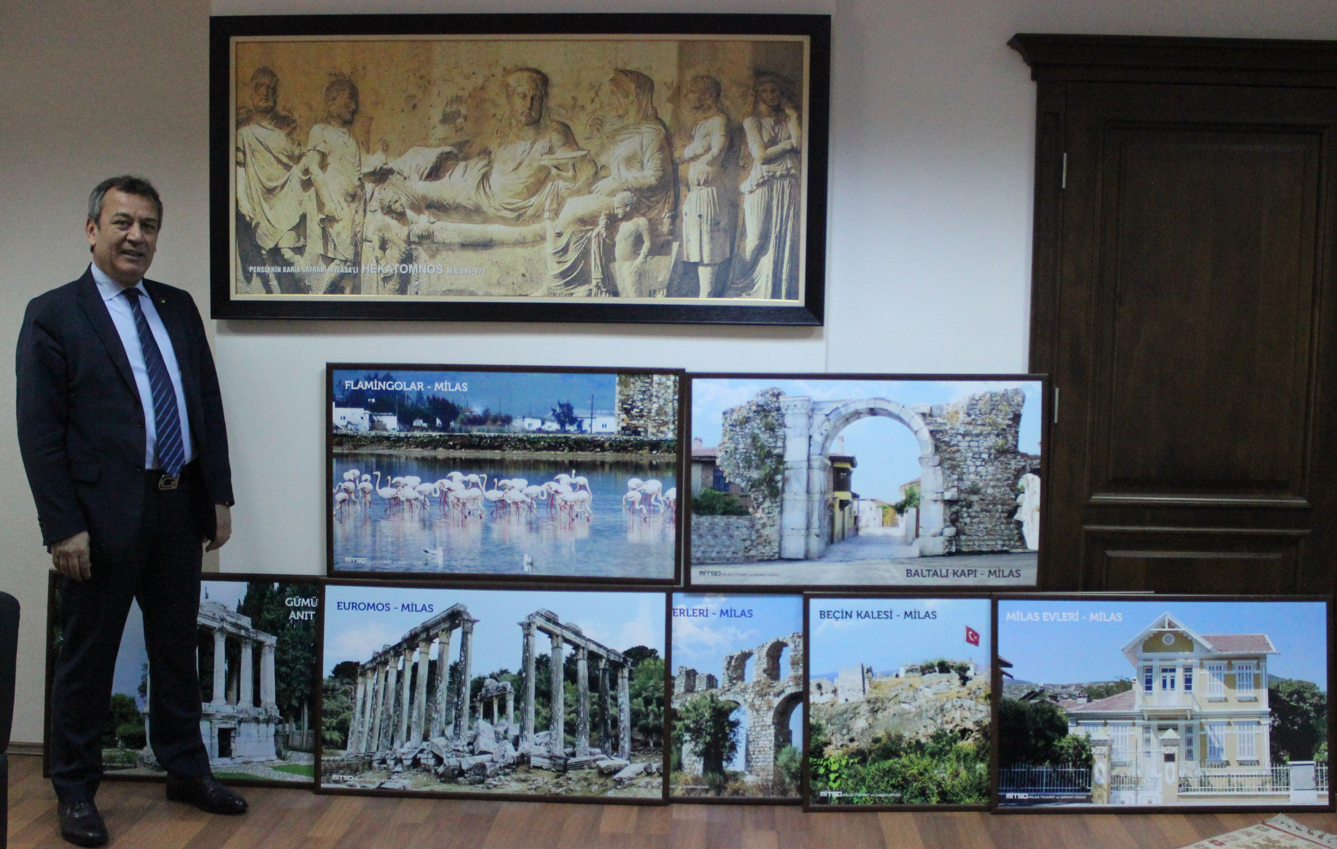 MİTSO'DAN HAVALİMANINA MİLAS'IN TANITIMI FOTOĞRAFLARI