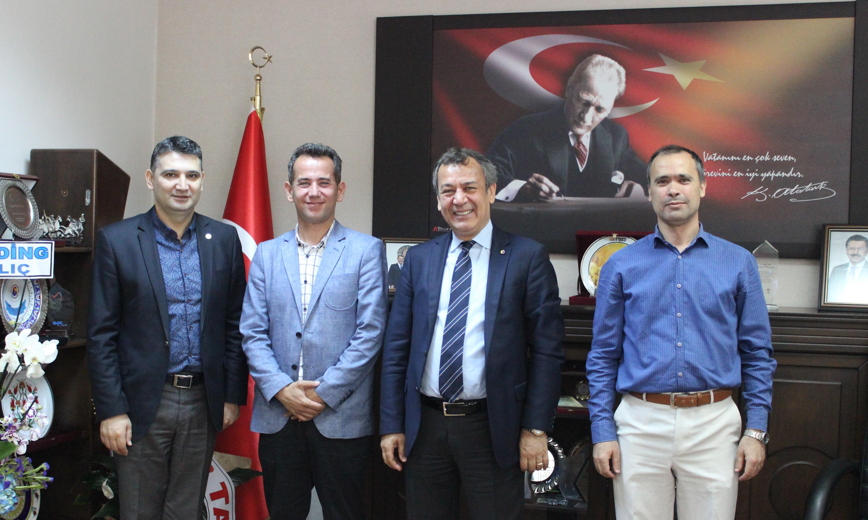 Mesleki Teknik Anadolu Lisesi MİTSO'yu davet etti: