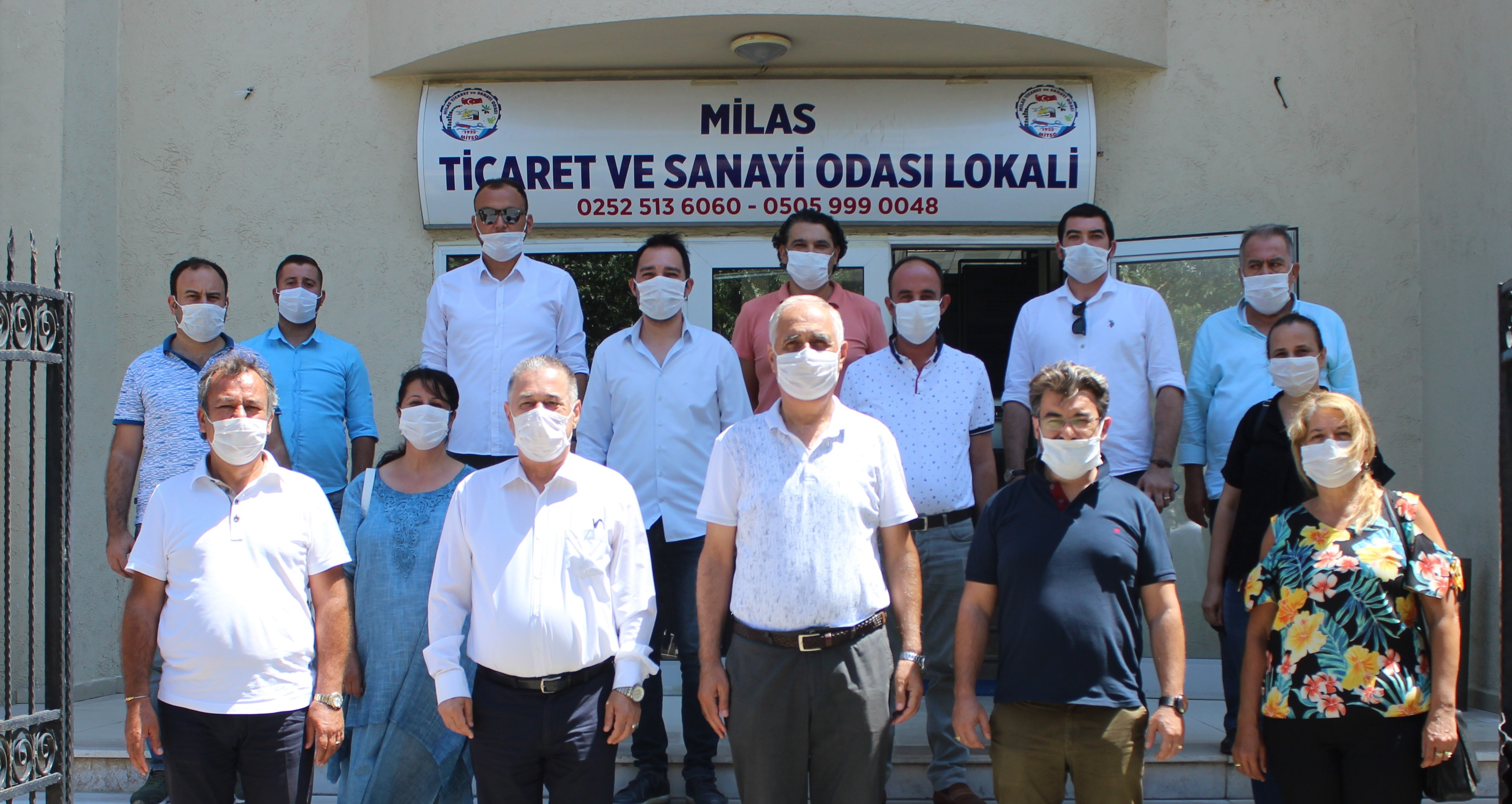 CHP MİTSO'DA…  MUĞLA'NIN VE MİLAS'IN BİR MASTIR PLANI OLMALI