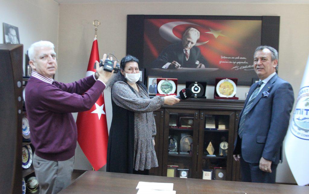 """TGRT Haber MİTSO'da… """"MİLAS ZEYTİNYAĞIMIZA GÜVENİYORUZ"""""""